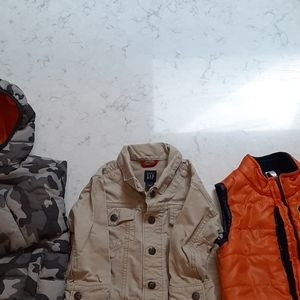Winter lot toddler boy attire